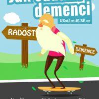 Plakát jak oddálit demenci